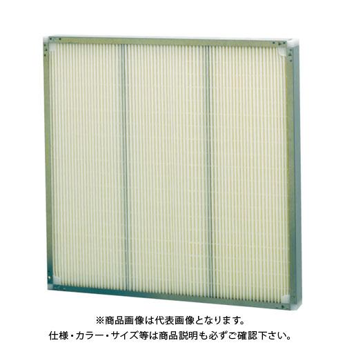 【直送品】 ミドリ安全 ろ材交換型中性能フィルタ(RBE型・厚み65mm) RBE30.56165N-70J