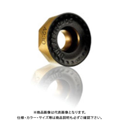 サンドビック コロミル200用チップ 4230 COAT 10個 RCKT1204M0-PM:4230