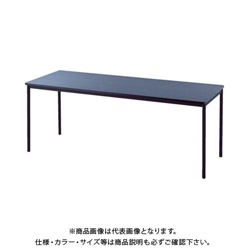 【運賃見積り】【直送品】 アールエフヤマカワ RFシンプルテーブル W1800×D700 ダーク RFSPT-1870DB
