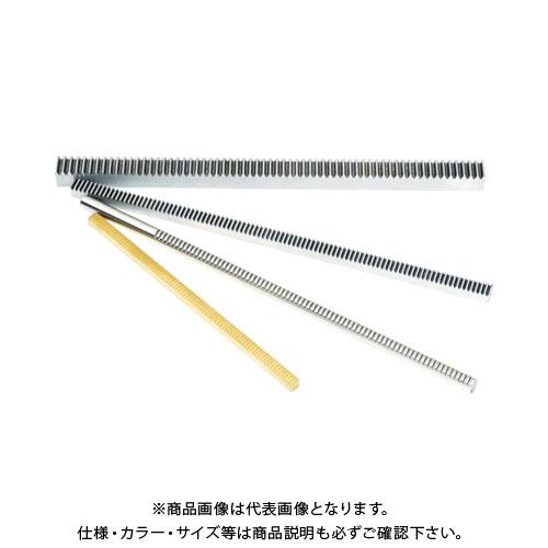 KG ラック 全長505~508mm 有効歯数319 歯幅8mm RK50SU5-0810