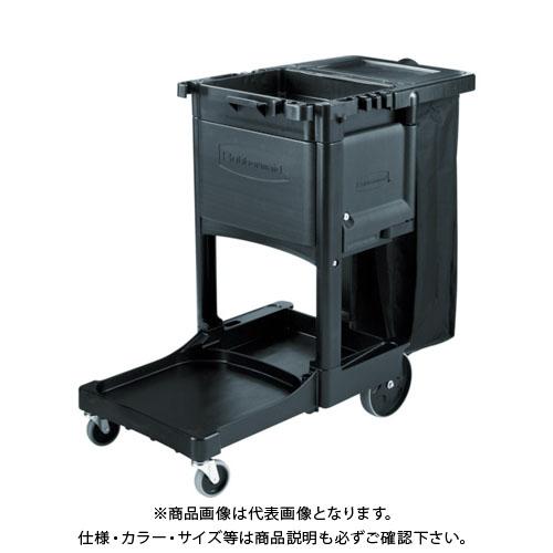 【運賃見積り】【直送品】 ラバーメイド ジャニターカート RM1861430BK