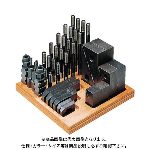 スーパーツール クランピングキット(M12)T溝:16 S1612-CK