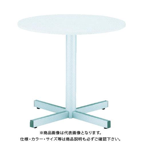 【運賃見積り】【直送品】 TOKIO ラウンドテーブル ホワイト RXN-900-W