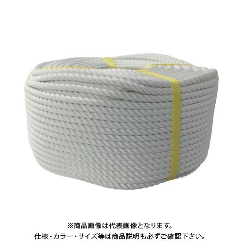 ユタカ ロープ ポリエステルロープ巻物 10φ×200m S10-200