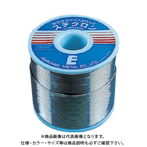 石川 ステクロン60E(すず60%/鉛40%)-0.8mm-1kg S60-08