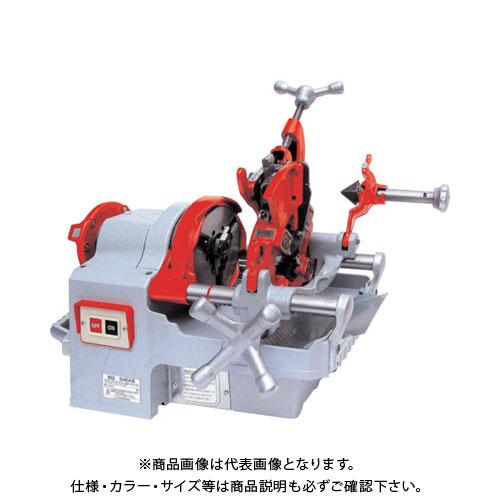 【運賃見積り】【直送品】REX 自動切上ダイヘッド付パイプマシン S40A3