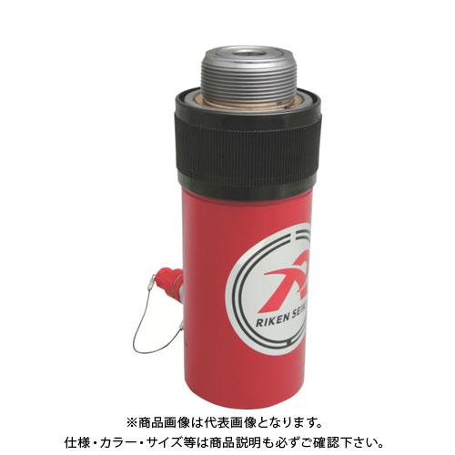 【個別送料1000円】【直送品】 RIKEN 単動シリンダ ストローク125mm VCカプラ付 S2-126VC