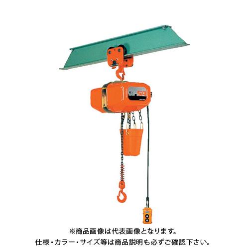 【直送品】象印 SA型プレントロリ式電気チェーンブロック1t SAP-01060