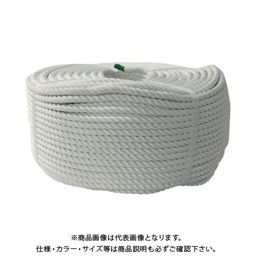 ユタカ ロープ ポリエステルロープ巻物 9φ×200m S9-200