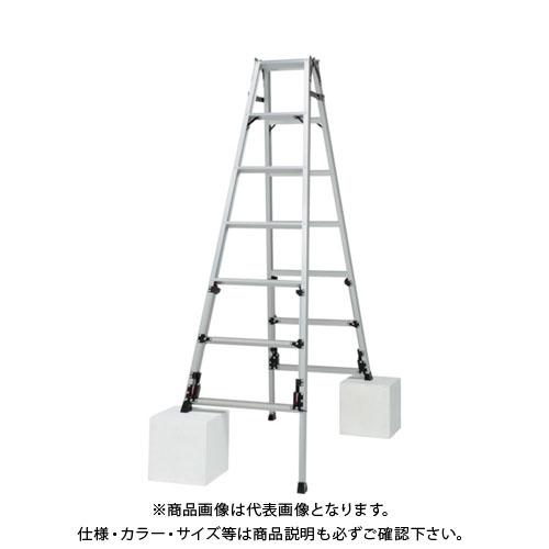 【運賃見積り】【直送品】ピカ 四脚アジャスト式脚立スーパーかるノビSCN型 SCN-210