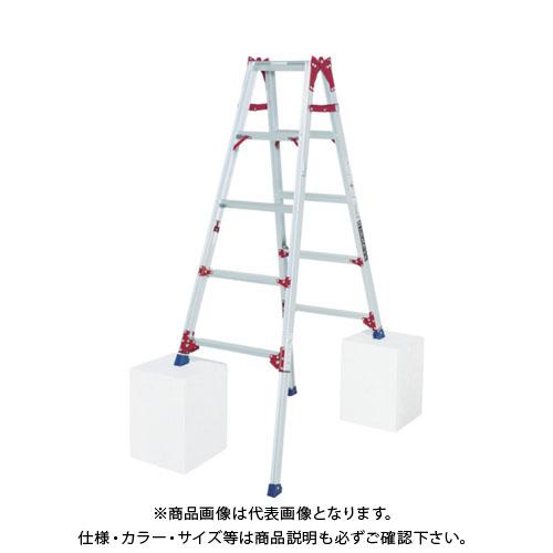 【運賃見積り】【直送品】ピカ 四脚アジャスト式脚立すぐノビSCP型 SCP-150L