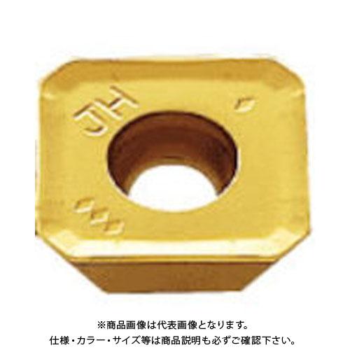 三菱 スクリューオン式汎用正面フライスチップ COAT 10個 SEMT13T3AGSN-JH:F7030