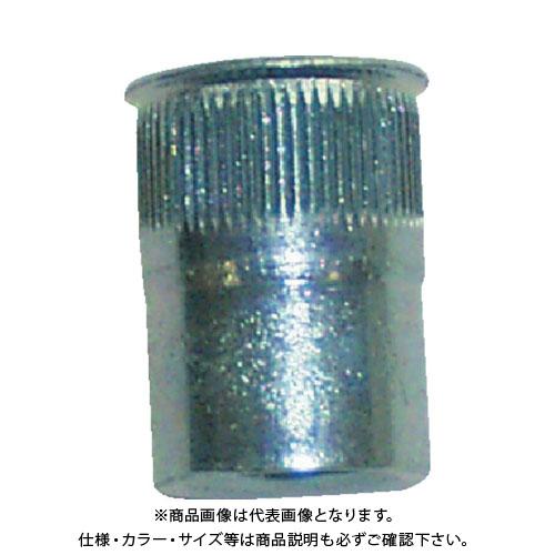 POP ポップナットローレットタイプスモールフランジ(M6) (1000個入) SFH-640-SF RLT
