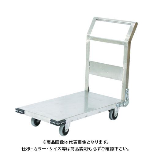 【直送品】TRUSCO ステンレス鋼板製運搬車 固定式 1200X600 SHS-2L