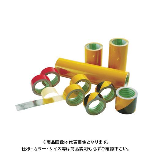 日東エルマテ 粗面反射テープ 100mmx10m 黄 SHT-100Y