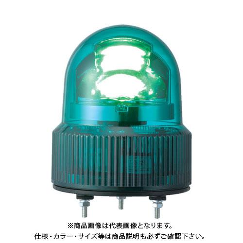 パトライト SKHE型 LED回転灯 Φ118 オールプラスチックタイプ SKHE-24-G