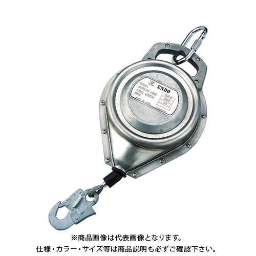 【直送品】ENDO セルフロック SLM-12 120kg 12m ステンレス SLM-12