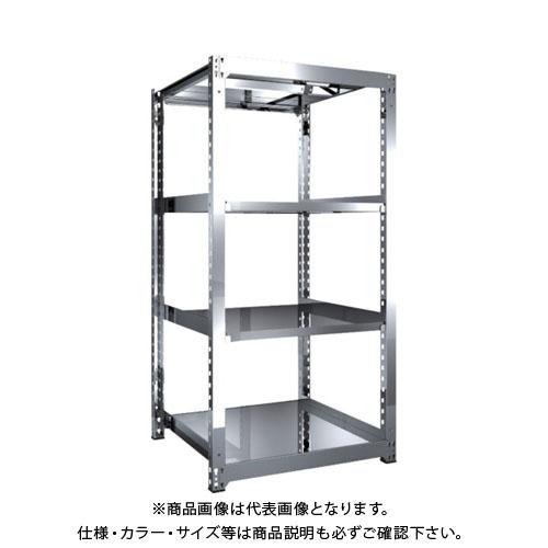 【直送品】 TRUSCO SM3型SUS棚 900X921XH1800 4段 単体 SM3-6394