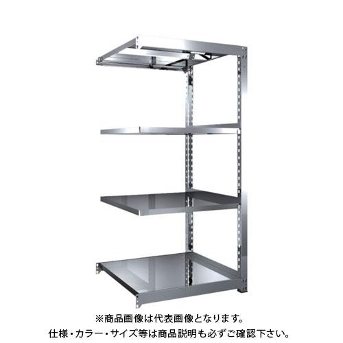 【直送品】 TRUSCO SM3型SUS棚 900X921XH1800 4段 連結 SM3-6394B