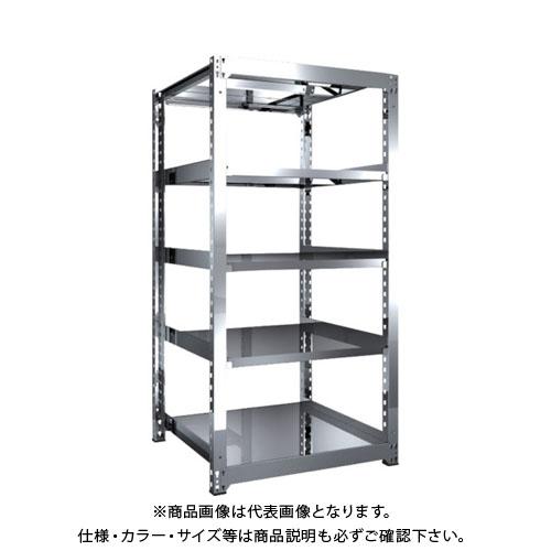 【運賃見積り】【直送品】 TRUSCO SM3型SUS棚 900X921XH1800 5段 単体 SM3-6395