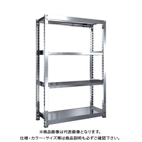 【直送品】 TRUSCO SM3型SUS棚 1200X471XH1800 4段 単体 SM3-6454