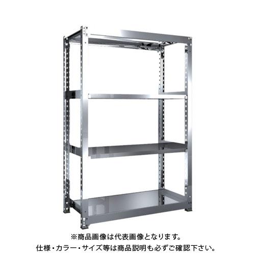 【直送品】 TRUSCO SM3型SUS棚 1200X571XH1800 4段 単体 SM3-6464