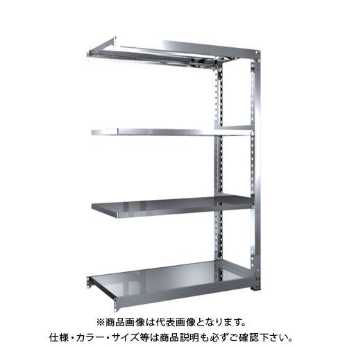 【直送品】 TRUSCO SM3型SUS棚 1200X571XH1800 4段 連結 SM3-6464B