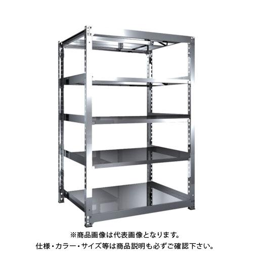 【運賃見積り】【直送品】 TRUSCO SM3型SUS棚 1200X921XH1800 5段 単体 SM3-6495