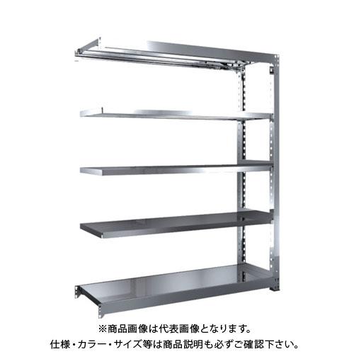 【直送品】 TRUSCO SM3型SUS棚 1500X471XH1800 5段 連結 SM3-6555B