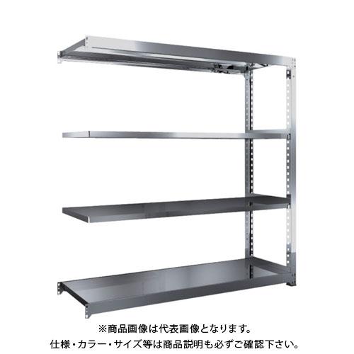 【運賃見積り】【直送品】 TRUSCO SM3型SUS棚 1800X571XH1800 4段 連結 SM3-6664B