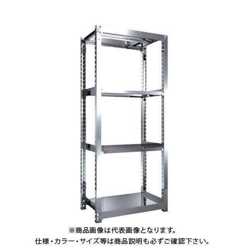 【直送品】 TRUSCO SM3型SUS棚 900X571XH2100 4段 単体 SM3-7364