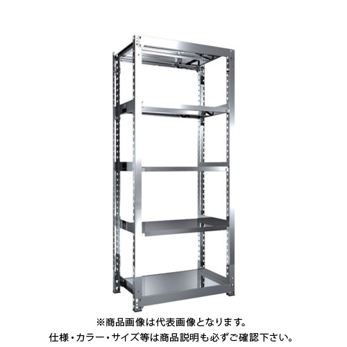 【直送品】 TRUSCO SM3型SUS棚 900X571XH2100 5段 単体 SM3-7365