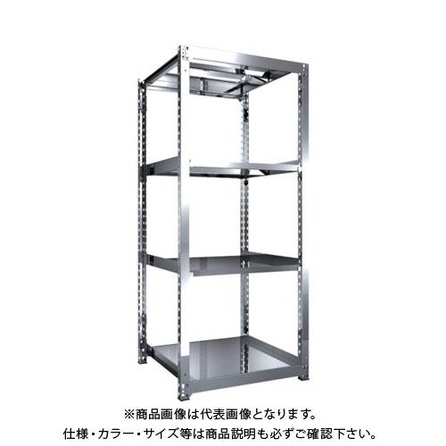 【直送品】 TRUSCO SM3型SUS棚 900X921XH2100 4段 単体 SM3-7394