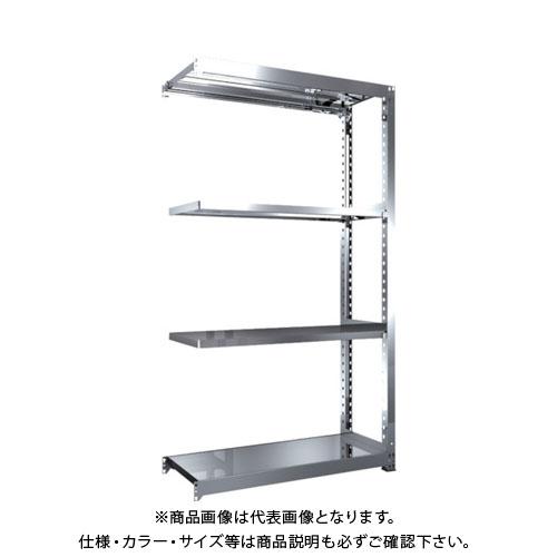 【直送品】 TRUSCO SM3型SUS棚 1200X471XH2100 4段 連結 SM3-7454B