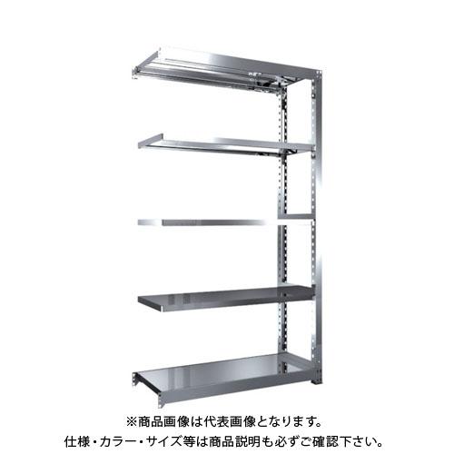 【直送品】 TRUSCO SM3型SUS棚 1200X471XH2100 5段 連結 SM3-7455B