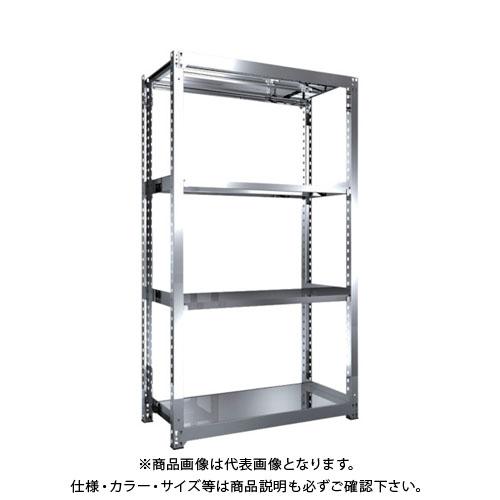 【直送品】 TRUSCO SM3型SUS棚 1200X571XH2100 4段 単体 SM3-7464