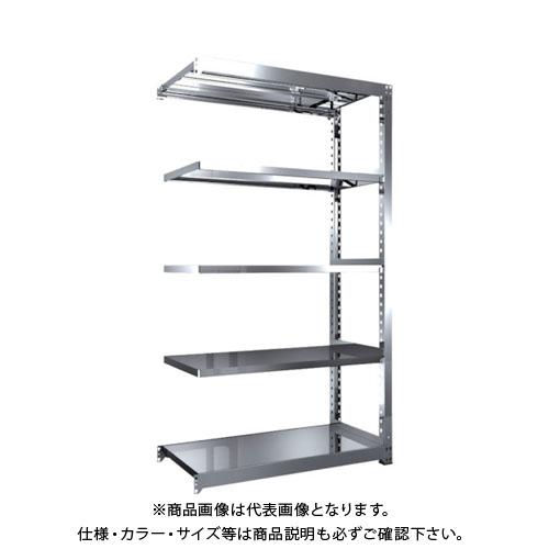 【直送品】 TRUSCO SM3型SUS棚 1200X571XH2100 5段 連結 SM3-7465B