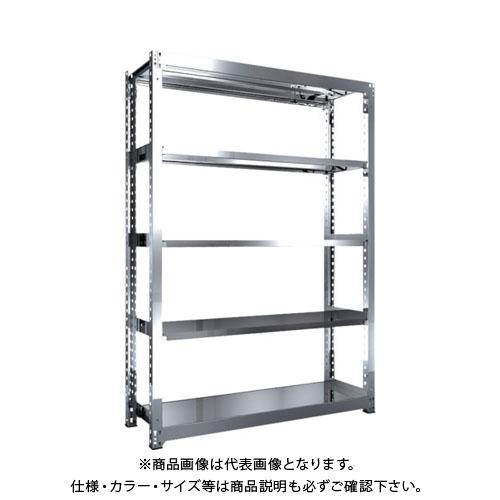 【運賃見積り】【直送品】 TRUSCO SM3型SUS棚 1500X471XH2100 5段 単体 SM3-7555