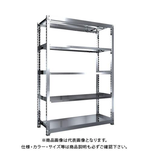 【運賃見積り】【直送品】 TRUSCO SM3型SUS棚 1500X571XH2100 5段 単体 SM3-7565