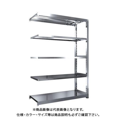 【運賃見積り】【直送品】 TRUSCO SM3型SUS棚 1500X571XH2100 5段 連結 SM3-7565B