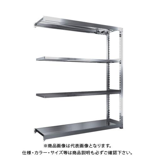 【運賃見積り】【直送品】 TRUSCO SM3型SUS棚 1800X471XH2100 4段 連結 SM3-7654B