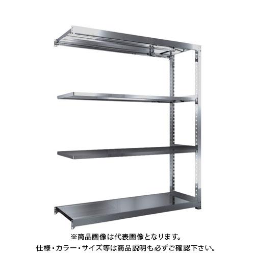 【運賃見積り】【直送品】 TRUSCO SM3型SUS棚 1800X571XH2100 4段 連結 SM3-7664B