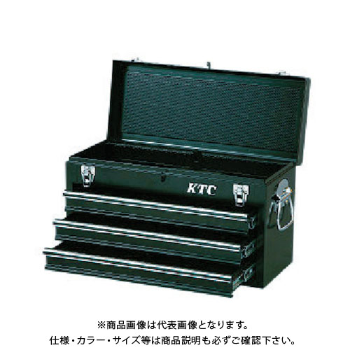 KTC チェスト(3段3引出し)ソリッドブラック SKX0213BK