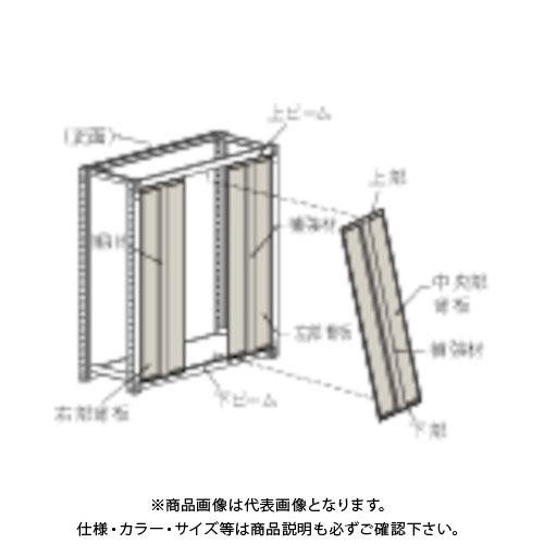 【運賃見積り】【直送品】 TRUSCO M3・M5型棚用はめ込み式背板 1200XH1800 ネオグレー SMM-64:NG