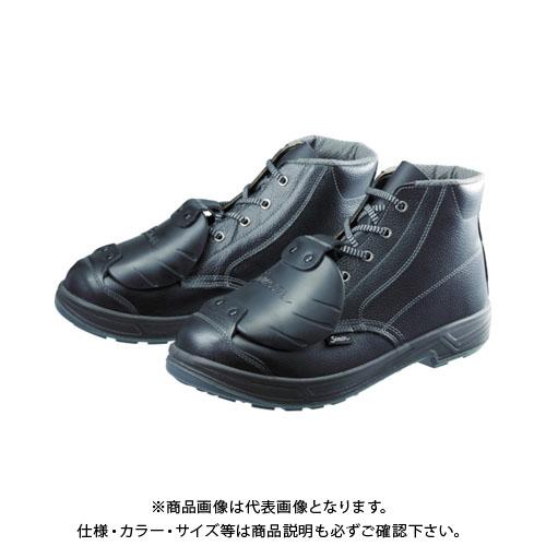 シモン 安全靴甲プロ付 編上靴 SS22D-6 25.5cm SS22D-6-25.5
