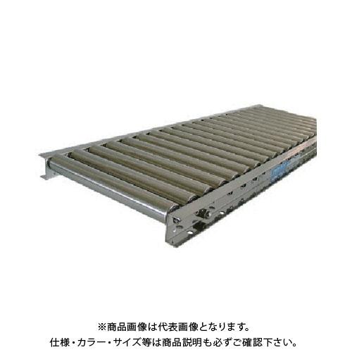 【運賃見積り】【直送品】 TS ステンレスローラコンベヤ 径38.1×幅400 ピッチ75 機長1500 SU38-400715
