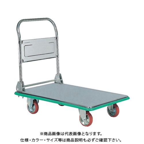 【直送品】アイケー ステンレス製運搬車 SUS301