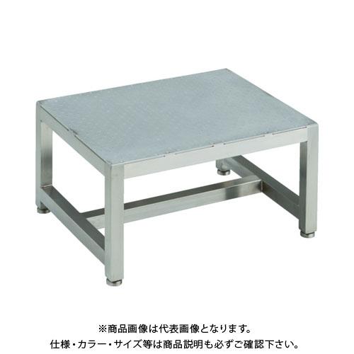 【直送品】 TRUSCO ステンレスステップ 1段式 500X400XH250 SUF-5425