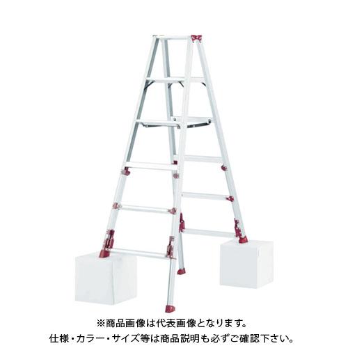 【運賃見積り】【直送品】ピカ 上部操作式四脚アジャスト式専用脚立 SXJ型 SXJ-180