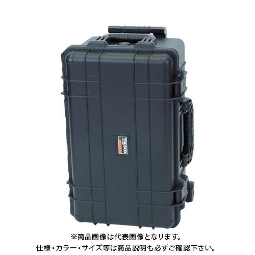 【運賃見積り】【直送品】 TRUSCO プロテクターツールケースキャスター付(深型縦タイプ) TAK26-T